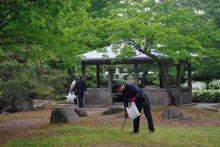 ☆黒獅子まつりの会場でごみ拾い!〜中央青壮年環境整備事業:画像