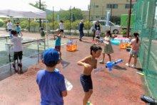 ☆やんちゃ放課後ひろば〜夏休み会で水あそびをしました:画像