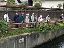 ☆水路をめぐる「まち歩き観光」を行いました:画像