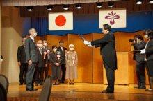☆中央コミセンに関係する方々に長井市から感謝状が贈られました:画像