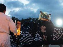 【第27回ながい黒獅子まつり〜葉山神社(白兎)】:画像