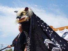 【第28回ながい黒獅子まつり−熊野神社(平山)−】:画像