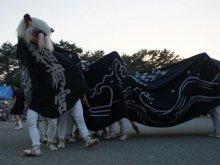 【第28回ながい黒獅子まつり−稲荷神社(九野本)−】:画像