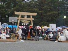 【第29回ながい黒獅子まつり−伊佐沢神社(上伊佐沢)−】:画像
