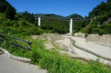 【長井ダム(ながい百秋湖)の様子】:画像