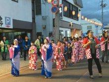 【長井おどり大パレードが開催されました。】:画像