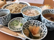 長井市《JuJu》の蕎麦ランチ:画像