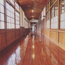 旧長井小学校第一校舎:画像