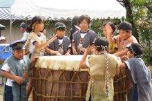 縄文太鼓の子供たち:画像