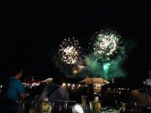 ながい水まつり/最上川花火大会が開催されました:画像