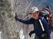 4月19日の長井葉山の白兎尾根コースの状況:画像