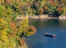 ながい百秋湖遊覧船運航中止と運航再開のお知らせ:画像