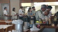 合庁二階食堂カレーで大盛況:画像