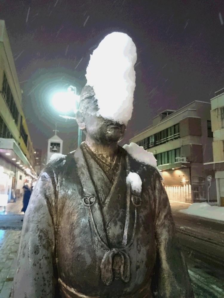 美しい 雪の世界よ さようなら:画像