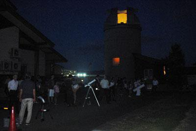 ☆学習ひろば 星空教室〜お月様と木星、土星、夏の星座を観察しよう!:画像