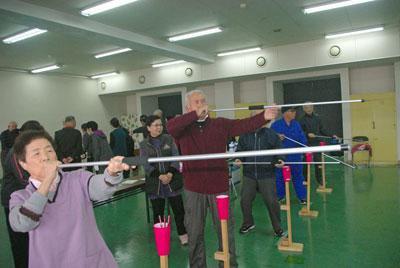 ☆冬の運動不足を解消!「いきいき健康教室」がはじまりました:画像