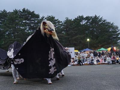 【第29回ながい黒獅子まつり−五所神社(寺泉)−】:画像