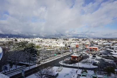 【雪が積もりました】:画像