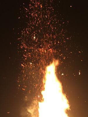 【小正月の火祭り行事『ヤハハエロ』】:画像