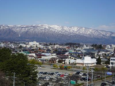 【町なかが春めいて来ました】:画像