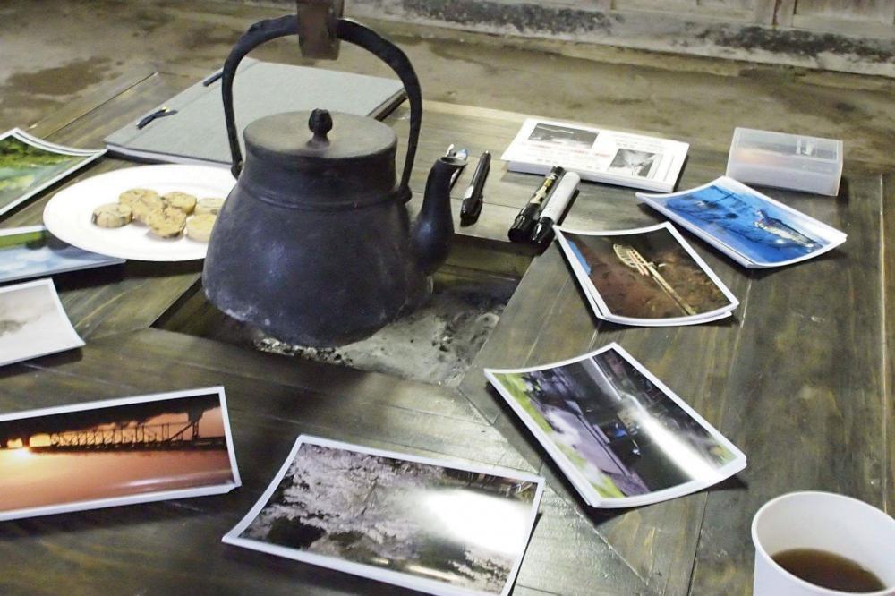 囲炉裏があって・・・:画像