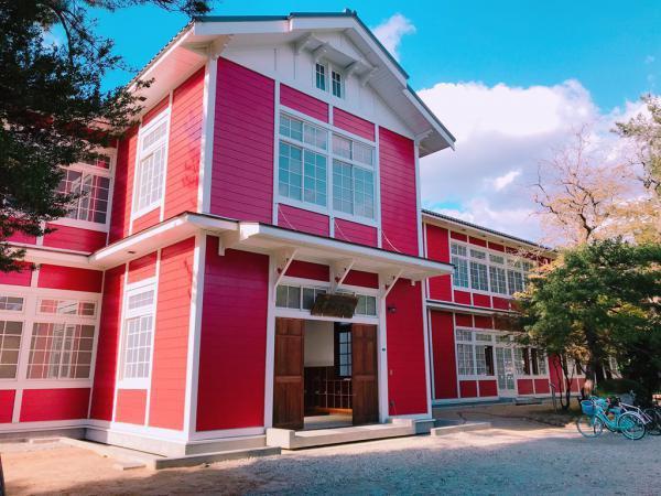 生まれ変わった 旧長井小学校第一校舎:画像