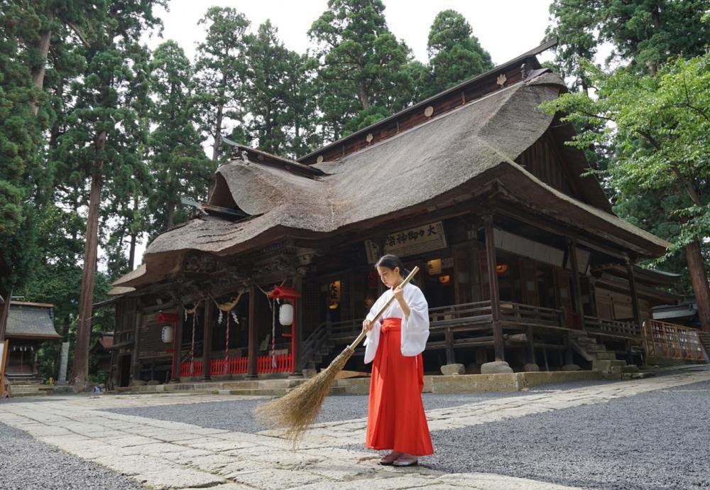 「縁結びの神 熊野大社で巫女体験」4月以降の日程を掲載しました!:画像