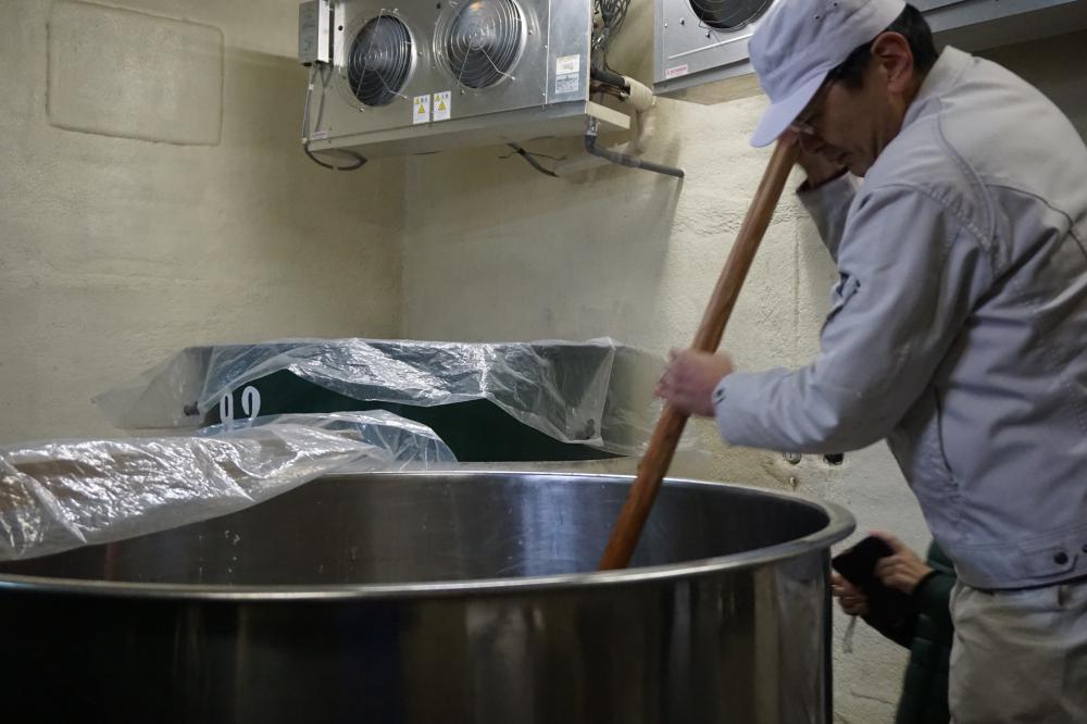 おらん旅ながい「加茂川酒造の酒仕込み体験」が実施されました!:画像