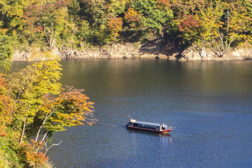 ながい百秋湖 遊覧船運行のお知らせ【予約開始】:画像