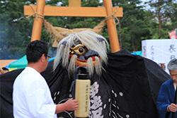 上伊佐沢 伊佐沢神社
